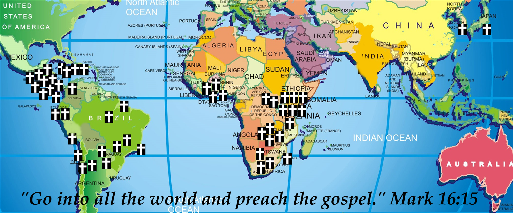 Mission Trips & Ministry Schedule