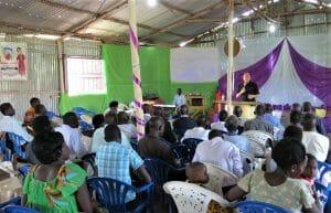 uganda, people sharing jesus, missions evangelism training