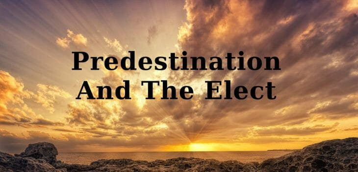 the elect, predestination and the elect, predestination and election, election, chosen ones for salvation, god's elect, gods elect