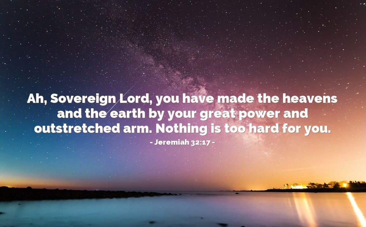 The Great Works Of The Lord God