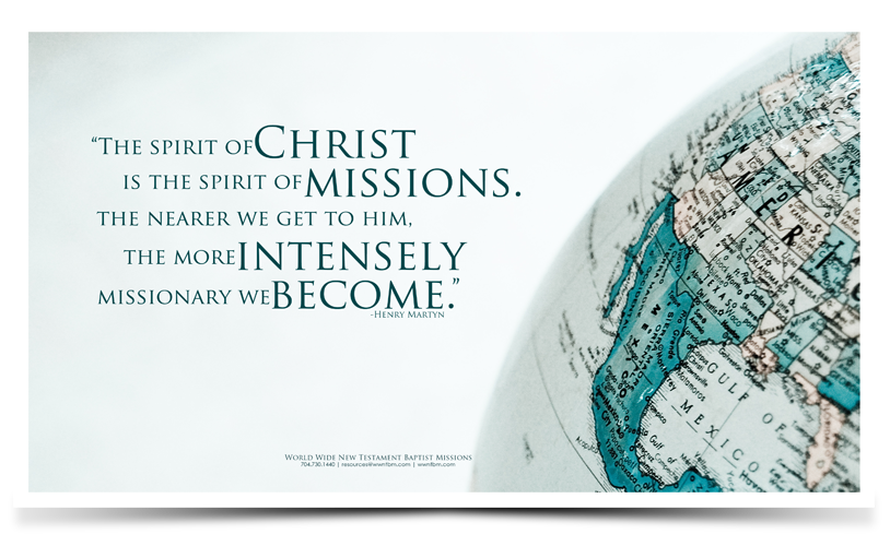 Inspiring Missions Quotes