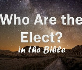 predestination and election in the bible, the elect, who are the elect, god's chosen people, salvation, predestined for salvation