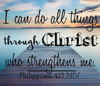 powerful prayer victorious life, philippians 4 13, i can do all things, jesus christ, victory in life, victorious life