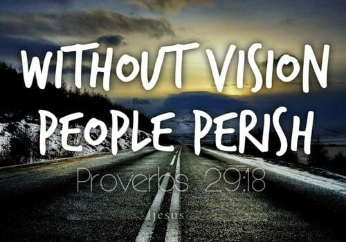 god must be the source of our vision, god's vision, vision from god, god reveals his vision, revelation
